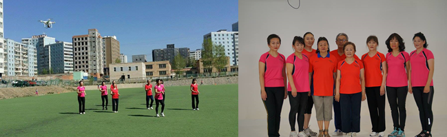 "The Happy and Healthy Mongolia team promoting healthy lifestyles for men and women across various age groups by promoting simple exercise routines designed to energize and invigorate body and spirit under ""Walk Walk Walk"" Project implemented by WLP team."